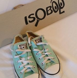 Converse All Star Size 6 Aqua Teal Skater Shoe